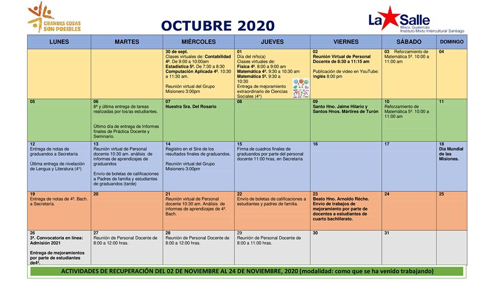 agenda-octubre-2020